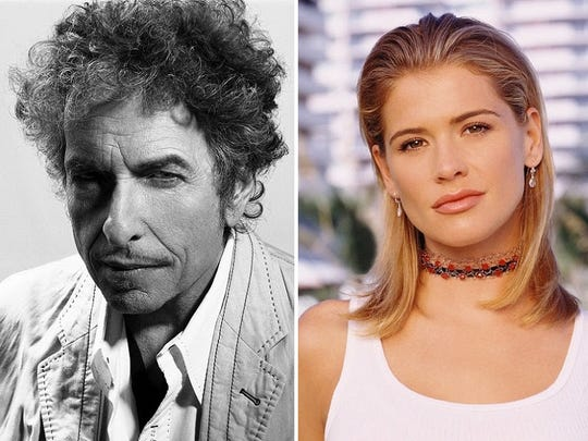 Bob Dylan (2007) and Kristy Swanson.