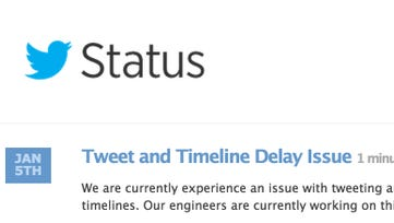 Twitter experiencing an outage
