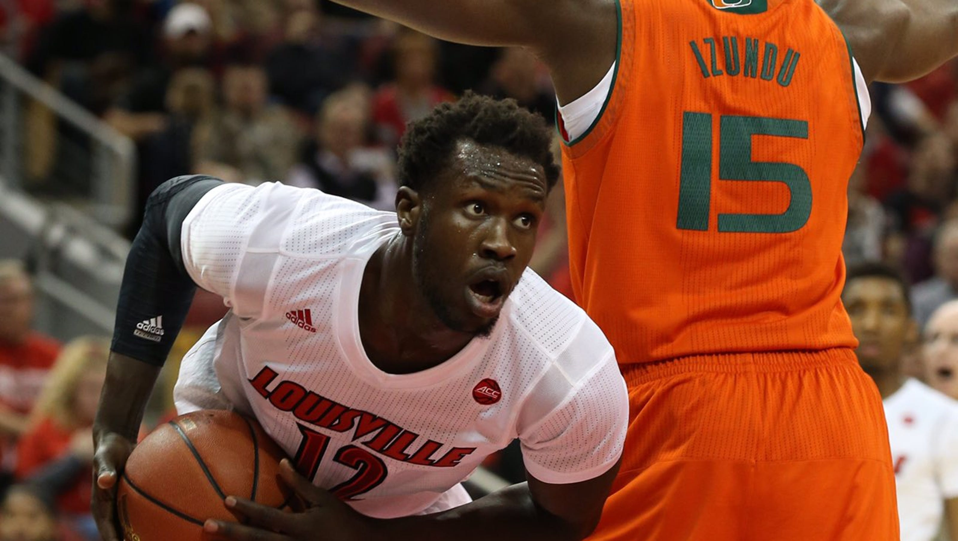 More than 17000 showed up at the KFC Yum Center on Thursday to watch the Louisville womens basketball team take down UConn