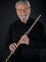 Sir James Galway, flutist