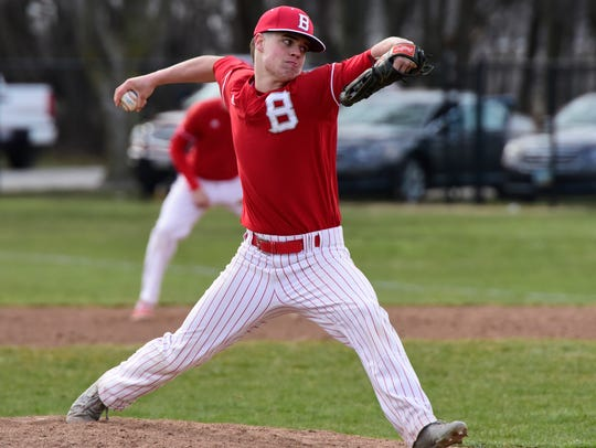 Bryce McMurray is a pitcher and outfielder for Bellevue.
