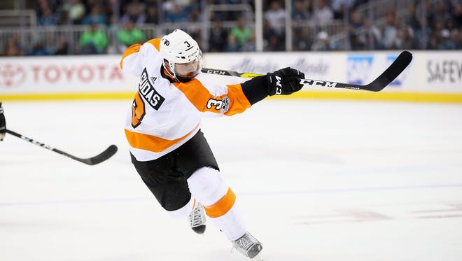 Radko Gudas was suspended Sunday for the third time in his career.