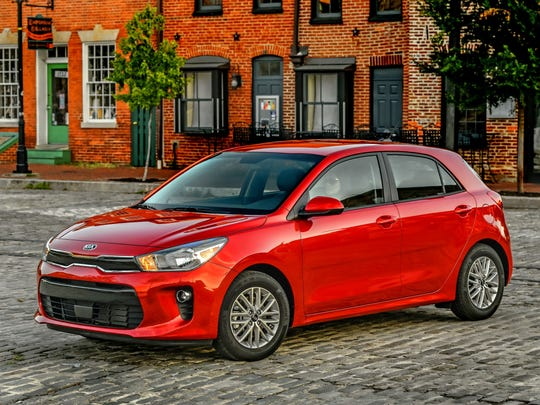 This Photo Provided By Kia Shows The 2018 Rio