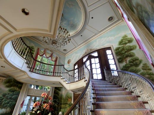 Grand Staircase In The Main Entrance To Art Van Elslanders