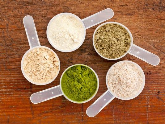 superfood supplement powder
