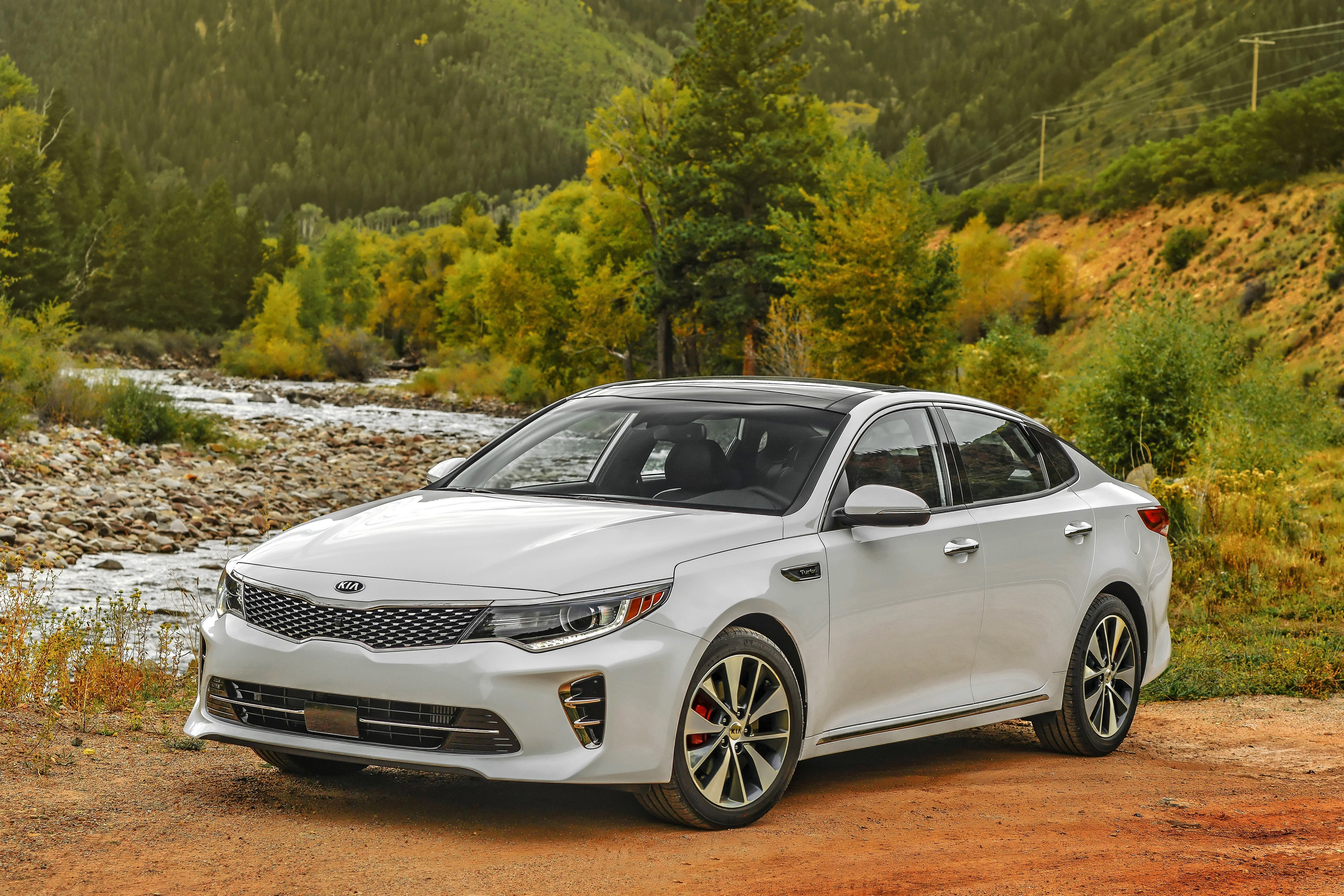 Lovely This Photo Provided By Kia Shows The 2017 Kia Optima, A Car That Might Be  The Right Choice For A College Student. It Offers Good Looks, Lots Of  Safety ...