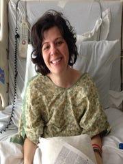 Stuck in a hospital room in 2015, Elizabeth Daugherity