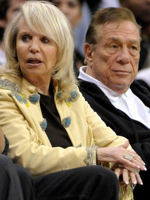 Shelly Sterling, left, has agreed to sell the Los Angeles Clippers, but Donald Sterling is fighting her and claims that he is mentally incapacitated.