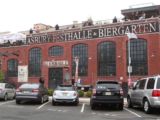 The Asbury Festhalle and Biergarten has opened its