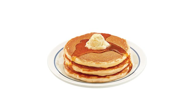 IHOP restaurants celebrate National Pancake Day with free pancakes on March 3.