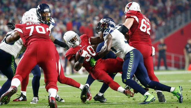 The Cardinals ranked next to last in rushing yards per game (81.8) and last in yards per play (3.29).