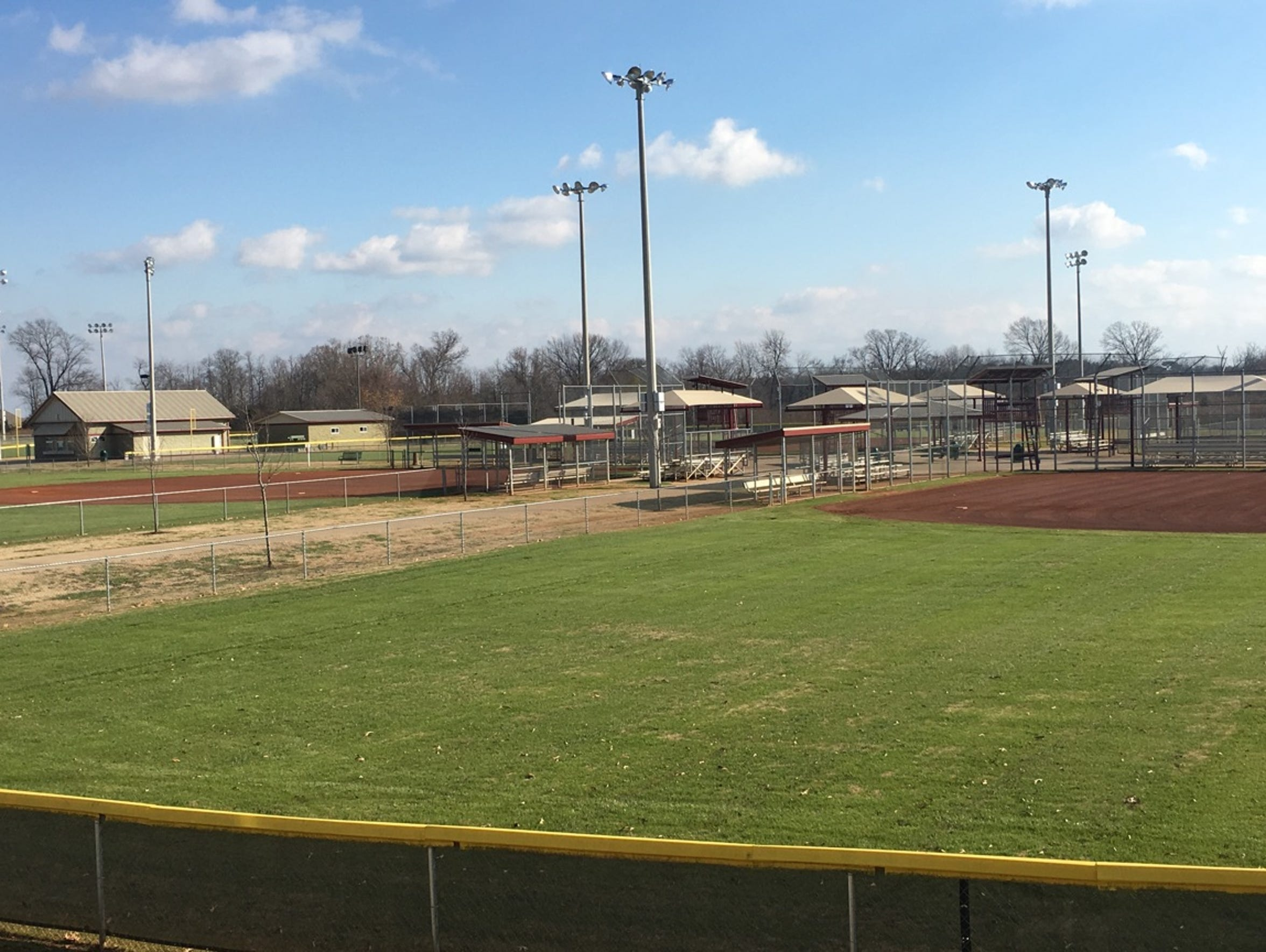 Ballfields at Civitan Park are attracting lucrative