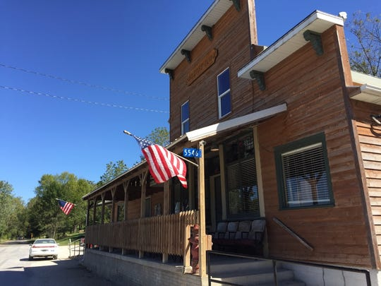 Baxa's Sutliff Store and Tavern is seen on Monday,
