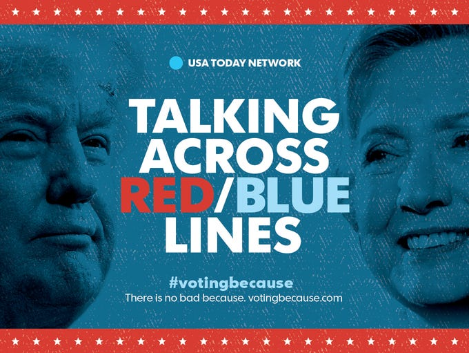 Talking Across Red/Blue Lines