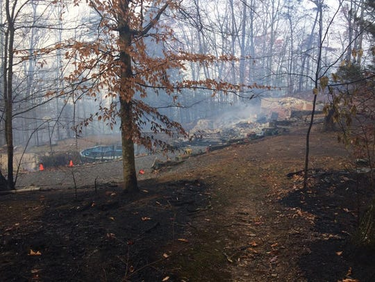 The home of Jake Renfro and his family was devastated