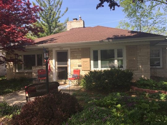 The outside of the home at 2553 N. Swan Blvd., Wauwatosa.