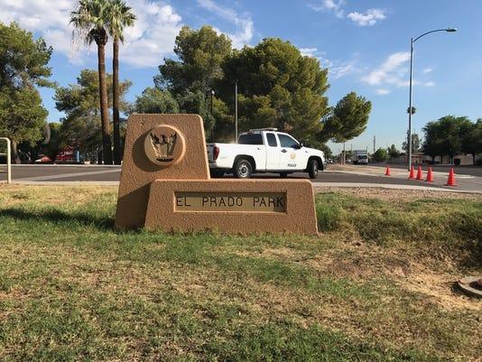 Double homicide at Phoenix park