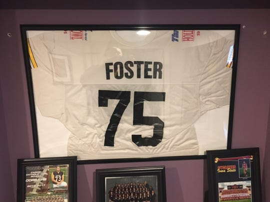 Someday, Sean Foster's 2017 Liberty Bowl jersey will