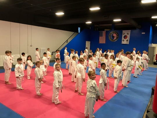 Mt. Juliet Tae Kwon Do students have moved into a new
