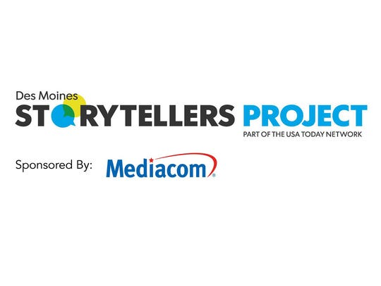 Des Moines Storytellers Project logo