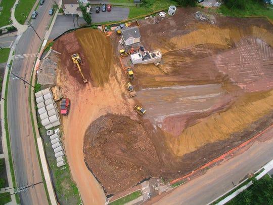 Carteret's Noe Street Park drainage project.