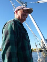 John Lipscomb is the patrol boat captain for Riverkeeper.