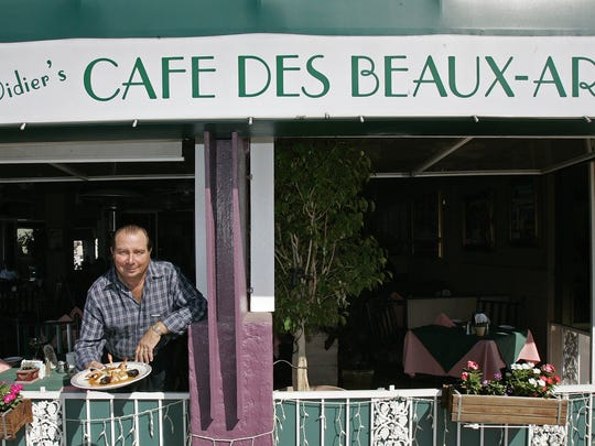 Cafe des Beaux-Arts in Palm Desert is one of numerous French restaurants in the Coachella Valley.