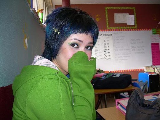 Martinez dropped out of high school as soon as she