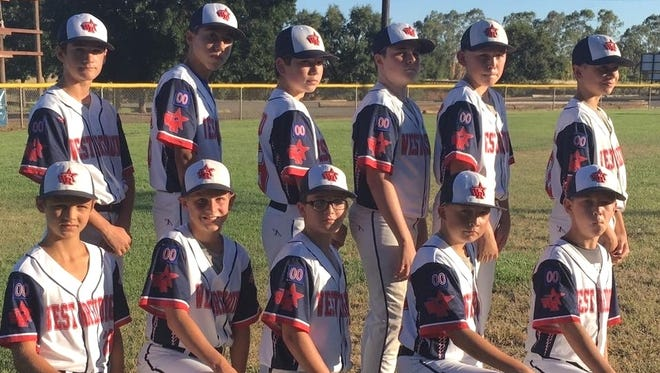 The 11-12 West Redding Little League All Stars advanced in the section tournament Friday night with a 9-0 victory over the Modoc All Stars.