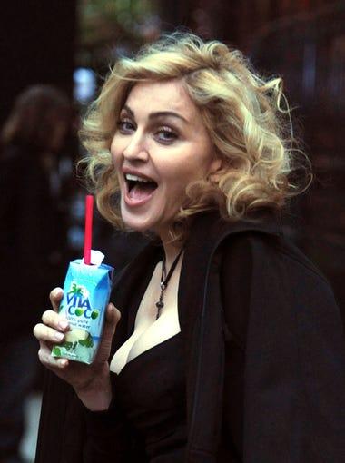 Madonna investors in Vita Coco coconut water. Since
