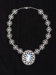 The 2011 Spanish Market poster filigree necklace by Juan Lopez.