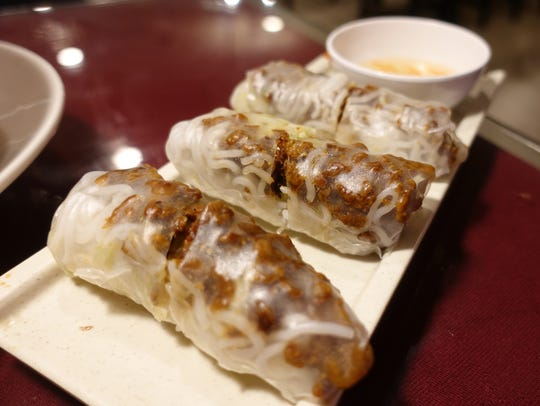 The grilled Pork Spring Roll from Saigon Pho in Wappingers