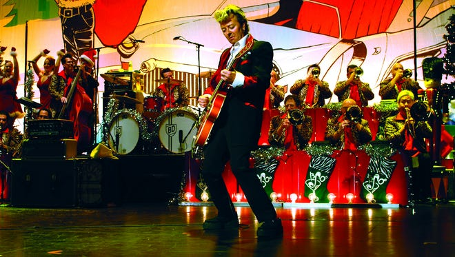 Celebrate the season with the Brian Setzer Orchestra Dec. 15 when they bring their annual Christmas Rocks! Extravaganza to Celebrity Theatre in Phoenix.