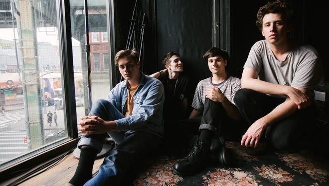 Hoops (from left, Kevin Krauter, James Allen, Drew Auscherman and Keagan Beresford) will perform on Aug. 26 at Luna Music.