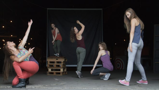 """Wild Space Dance Company will perform """"Artifacts,"""" a show of living dioramas, Sept. 14-17 at the Goat Palace, 3740 N. Fratney St."""