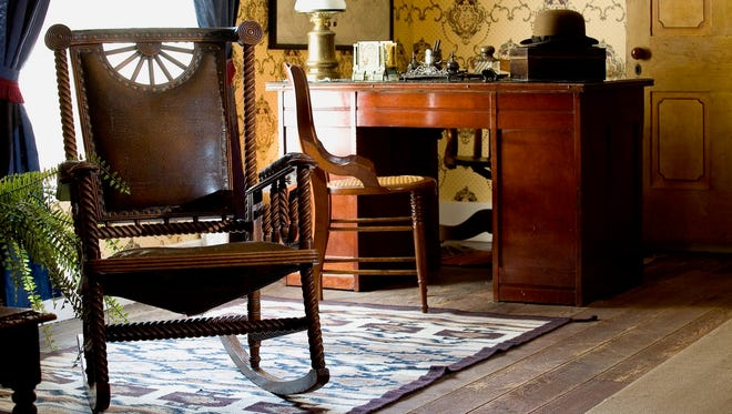 Magoffin Home in El Paso is filled with period furnishings and artifacts that define four generations of Magoffins who lived there.