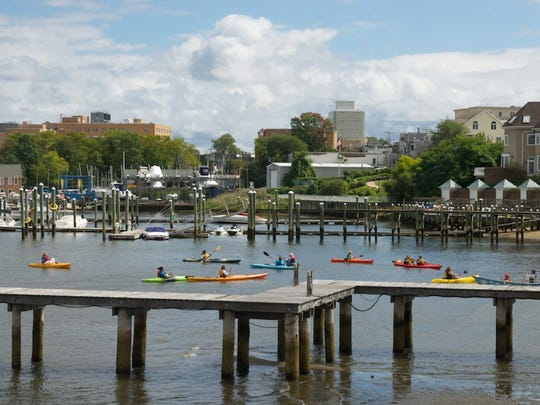 Despite fecal contamination, Paddle the Navesink Day