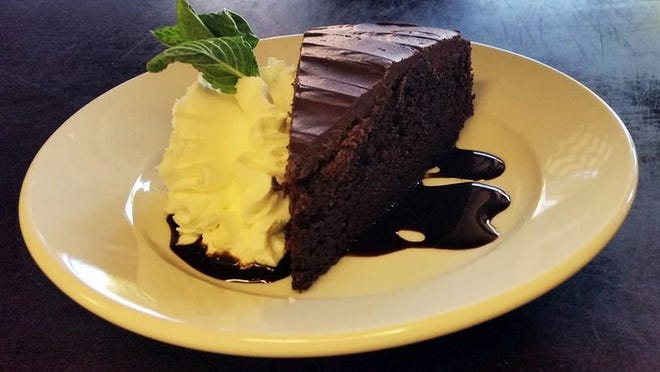 The stout cake from Penn and Palate uses Diesel Oil Stout from Powerhouse Brewing in Columbus.