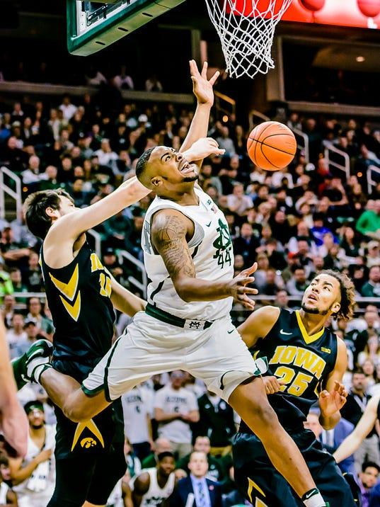 MSU vs Iowa Men's Basketball