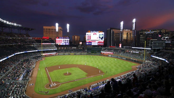 A man recently died in a walk-in cooler at SunTrust Park.