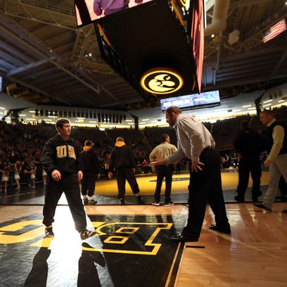Iowa wrestling leads nation in attendance for 12th straight season