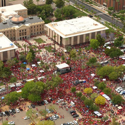 Arizona #RedForEd teacher rally to return to Capitol on Friday