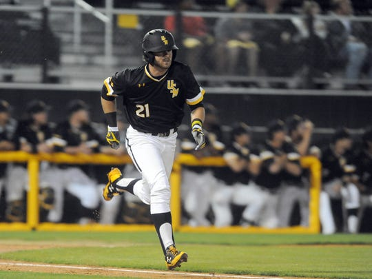 Southern Miss left fielder Hunter Slater extended his hitting streak to eight games in Wednesday's win over Tulane.