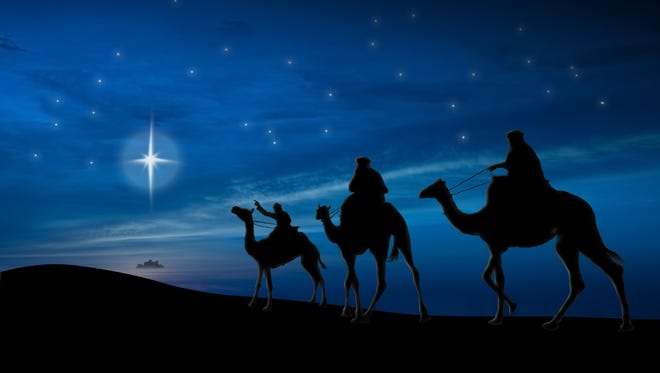 According to ancient tradition, the three wise men followed a bright star searching for baby Jesus and arrived in Bethlehem on Jan. 6.