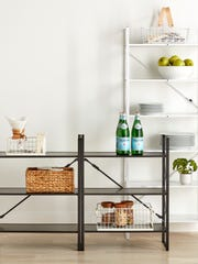Storage solutions come in a variety of materials such