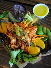Wiley Walker Jr. made this Rockin Moroccan Orange Chicken Salad in the kitchen at The Cookery.
