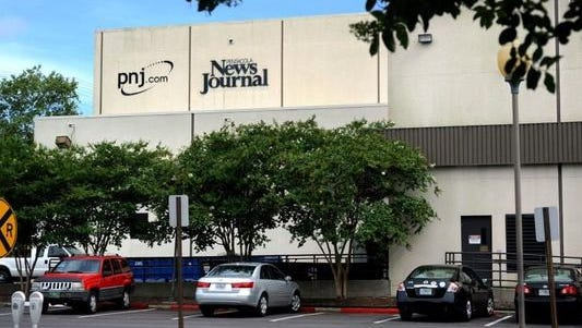 The old Pensacola News Journal office building.