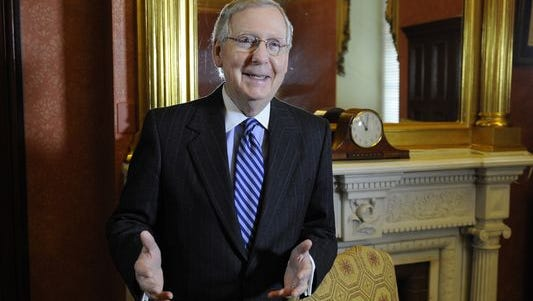 Senate Majority Leader Mitch McConnell, R-Ky.