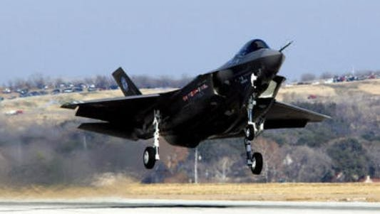 Eglin AFB's temporary Navy backup F-35C fleet may cause noise for surrounding residents.