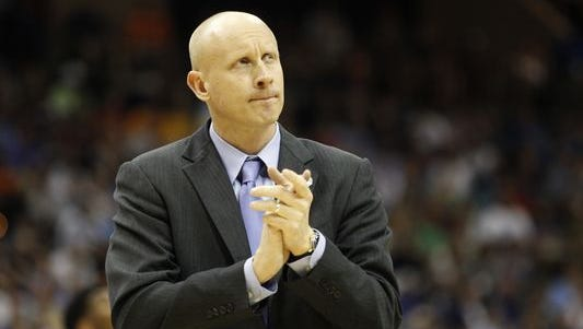 Xavier coach Chris Mack's name has been linked speculatively to the Florida opening vacated by Billy Donovan, who left the Gators to coach in the NBA.